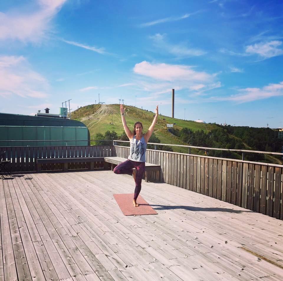 Dejta hur ofta yoga